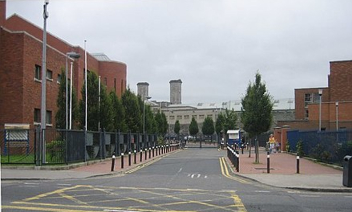Mountjoy Campus, North Circular Road, Dublin 7, Ireland, containing four prisons including: Mountjoy Prison; the Dóchas Centre; St. Patrick's Institution; and the Training Unit.