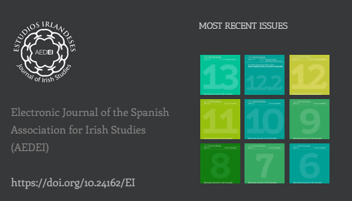 Journal Estudios Irlandeses: Call For Papers issue nº 14