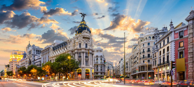 Irish cultural events around Spain, autumn 2018