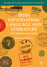 New publication: Irish Expatriatism, Language and Literature