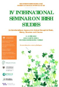 IV International Seminar in Irish  Studies, at the University of Granada