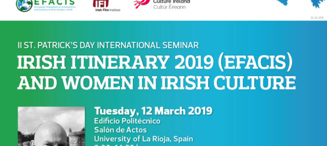 II St. Patrick's Day International Seminar La Rioja
