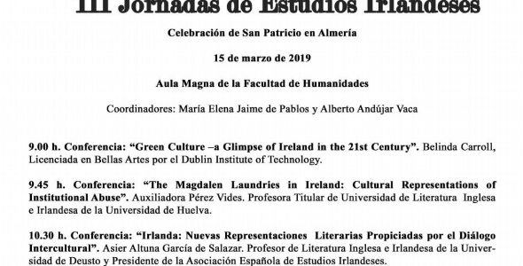 3rd Edition of St Patrick's at the University of Almería