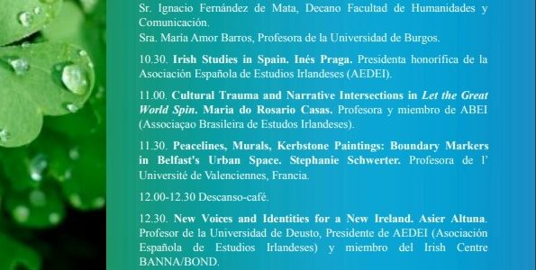 "International seminar: ""Identity in Contemporary Ireland"""