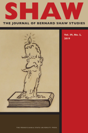 New issue: Journal SHAW