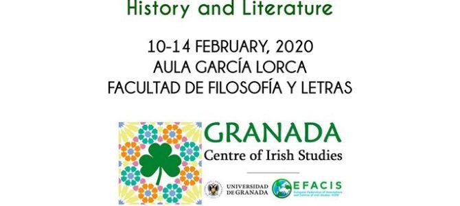 V Jornadas Estudios Irlandeses – Universidad de Granada