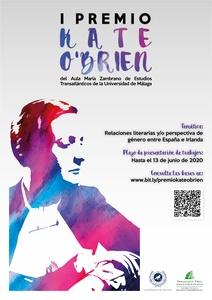 Primera edición Premio Kate O'Brien – Universidad de Málaga