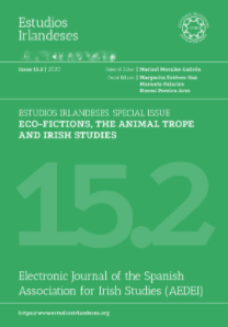 Special issue 15.2 of journal Estudios Irlandeses
