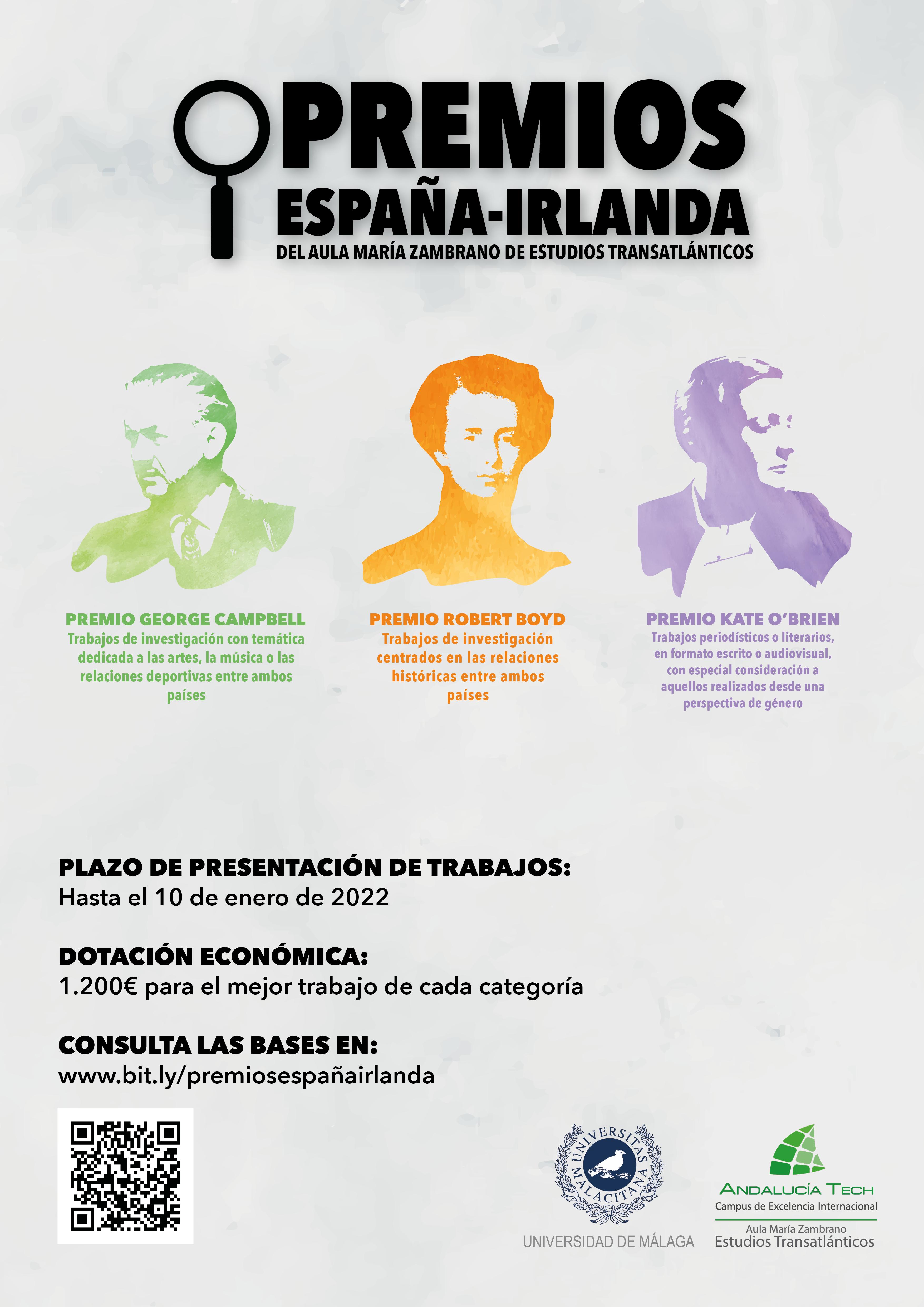 Convocatoria Premios España-Irlanda del AMZET